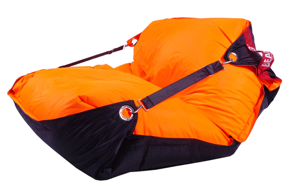 BeanBag BeanBag sedací vak 189x140 duo fluo orange - black